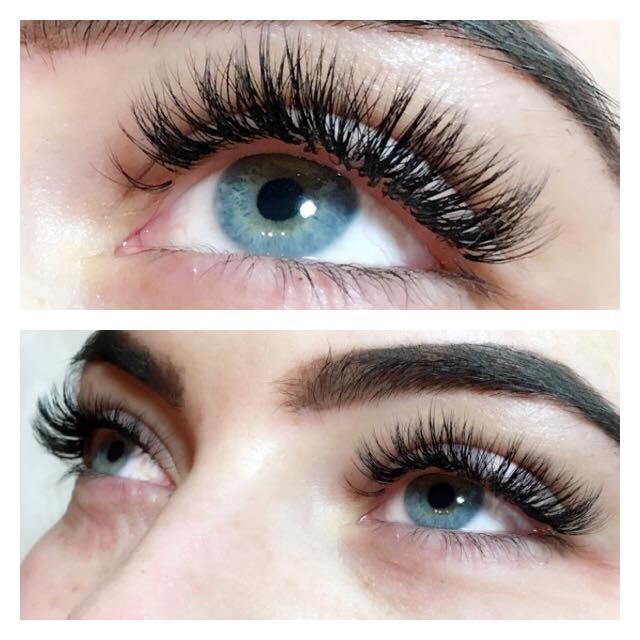 70a6001db0a Unlike typical eyelash extensions, where the lashes are applied using a  'one-to-one' method, Russian Volume both involve the application of  multiple lashes ...